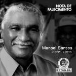 NOTA DE FALECIMENTO: MANOEL SANTOS