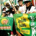 Juventude baiana na rua pela Reforma Política