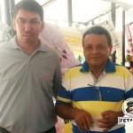 Secretário de Finanças da Fetag-BA, Zé Doutor, na Feira de Agricultura Familiar em Guanambi