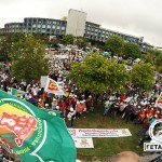 Milhares de trabalhadores e trabalhadoras rurais exigem respostas do Governo do Estado durante o Grito da Terra Bahia 2015