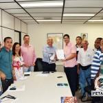 Diretoria da Fetag-BA entrega PAUTA DO GRITO DA TERRA BAHIA para o INCRA/BA e se prepara para a mobilização