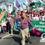 Bahia bem representada por mais de 1.000 agricultoras no segundo dia da Marcha das Margaridas em Brasília