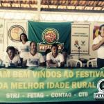 Festival da Melhor Idade Rural realizado pelo Sindicato dos Trabalhadores Rurais de Juazeiro