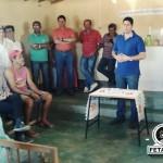 residente da FETAG-BA participou do lançamento da Pedra Fundamental da Unidade de Beneficiamento do Leite