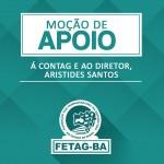 Moção de apoio à CONTAG e ao diretor Aristides Santos