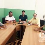 Diretores da FETAG-BA reúnem-se com presidente da CONTAG