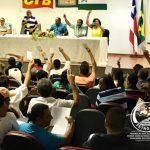 Representantes sindicais, assessores e diretoria da FETAG-BA participam da Assembleia Geral Ordinária do Conselho de Representantes.