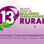 Convite Seminário Estadual de Mulheres Trabalhadoras Rurais